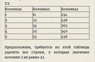 Как удалить строки из таблицы значений по некоторому условию (1С: 8.1: Программисту: Таблица значений)