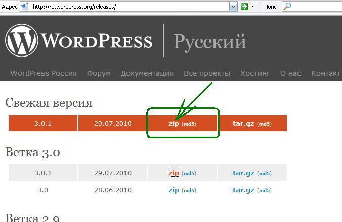 Как установить WordPress на новом хостинге (Создание сайтов: WordPress)